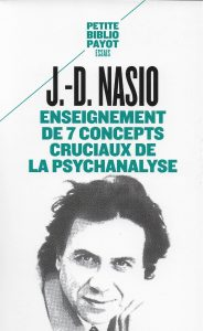 Enseignement de 7 concepts - J.-D. NASIO