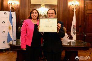 JD NASIO - personalidad destacada - Buenos Aires