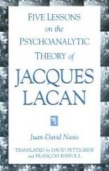 Cinq leçons Lacan - JD NASIO - en anglais
