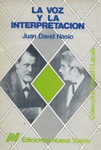La voz y la interpretacion - JD NASIO
